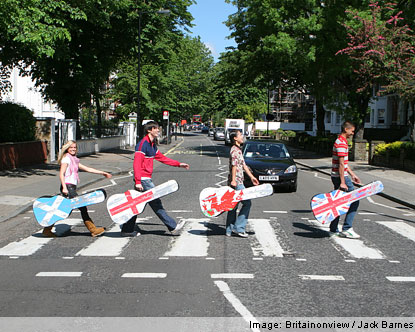 how to get to abbey road crossing by tube