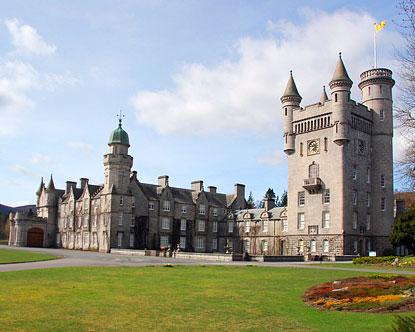Balmoral Castle Balmoral Castle In Scotland