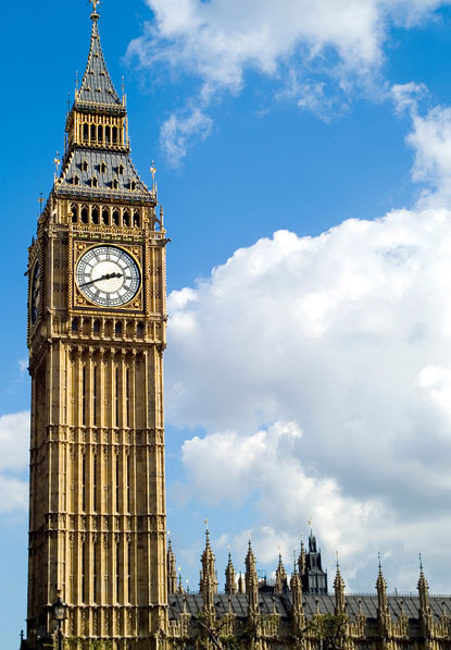 Big Ben Clock Tower - Big Ben in London - Big Ben History
