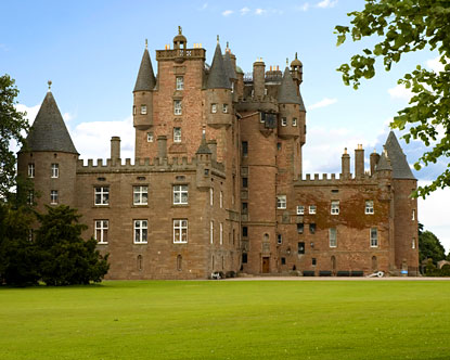 Glamis Castle Scotland - Glamis Castle History