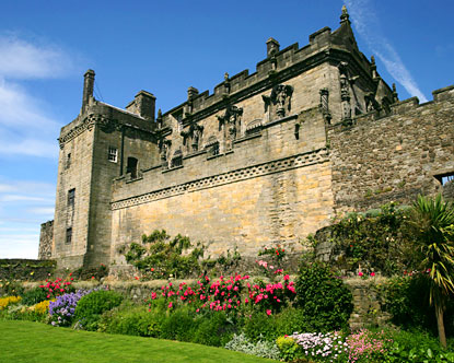 Of all the castles of Scotland, Stirling Castle stands out for its imposing