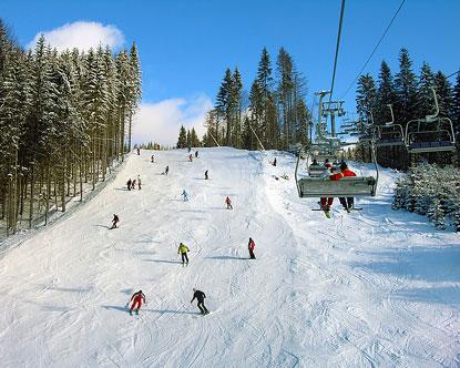 Ukraine Skiing Bukovel Slavske