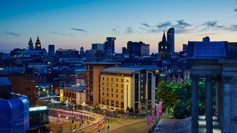Liverpool Marriott Hotel, City Centre