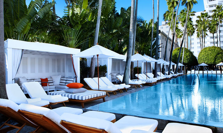 Delano Hotel in South Beach