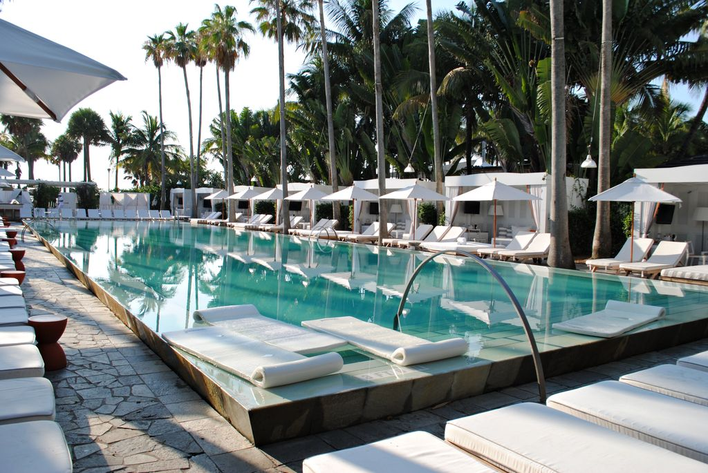 Delano Hotel in Miami Beach