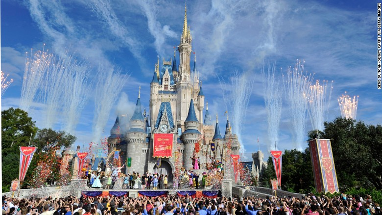 Disney's Magic Kingdom in Orlando, Florida