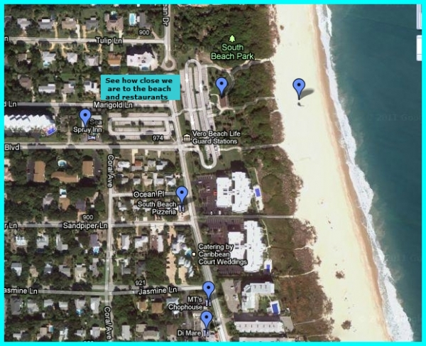 Vero Beach Hotels Map