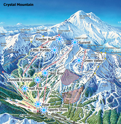 Crystal Mountain Ski Resort   Crystal Mountain Washington