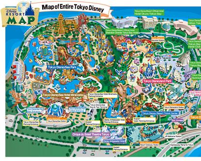 Disneyland Map Disneyland Park Map