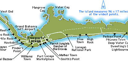 map of freeport bahamas cruise port Freeport Bahamas Map map of freeport bahamas cruise port
