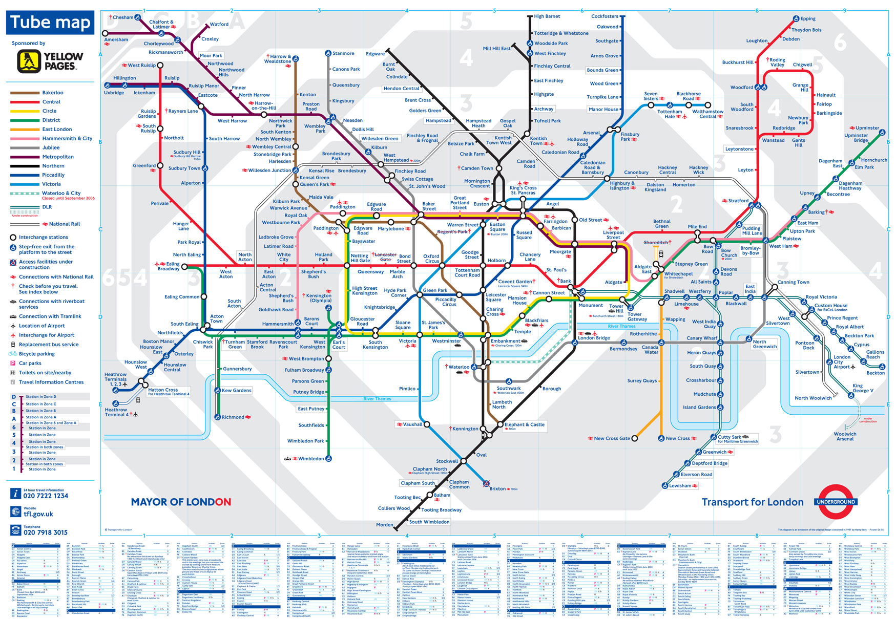 Map Of London Tube