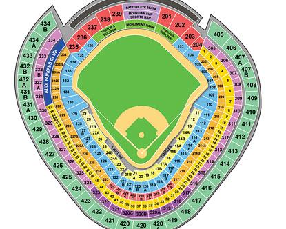 Yankee Stadium Seating - Yankee Stadium Map
