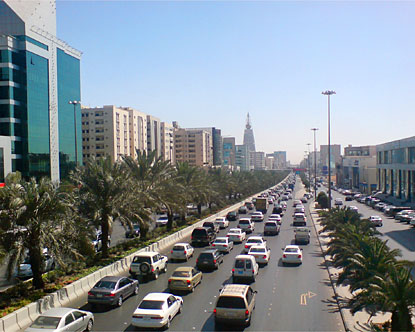Modern day capital of Saudi Arabia, Riyadh