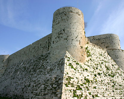 Krak Des Chevaliers Syria Tourist Attractions Castles Of Syria