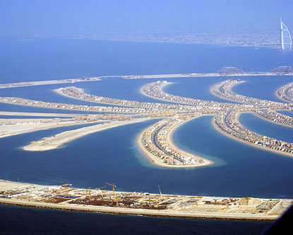 islands of dubai. Palm Island Dubai