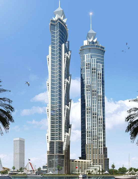 world s tallest hotel jw marriott marquis dubai