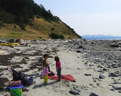 Savary Island Savary Island Lodging Savary Island Beaches