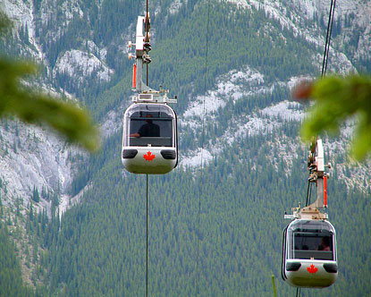 Niagara Falls Hotels >> Banff Gondola