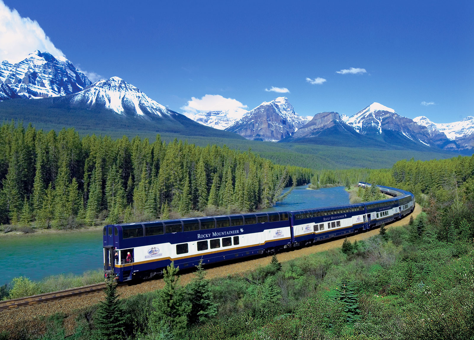 Train Travel in Canada