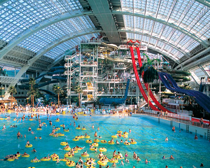 West edmonton mall canada for Glissade interieur