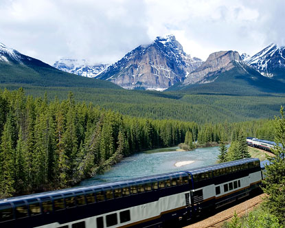 Canada Train Vacation