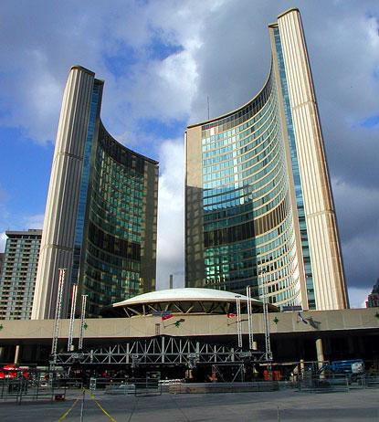 Toronto City Hall Nathan Phillips Square Toronto City
