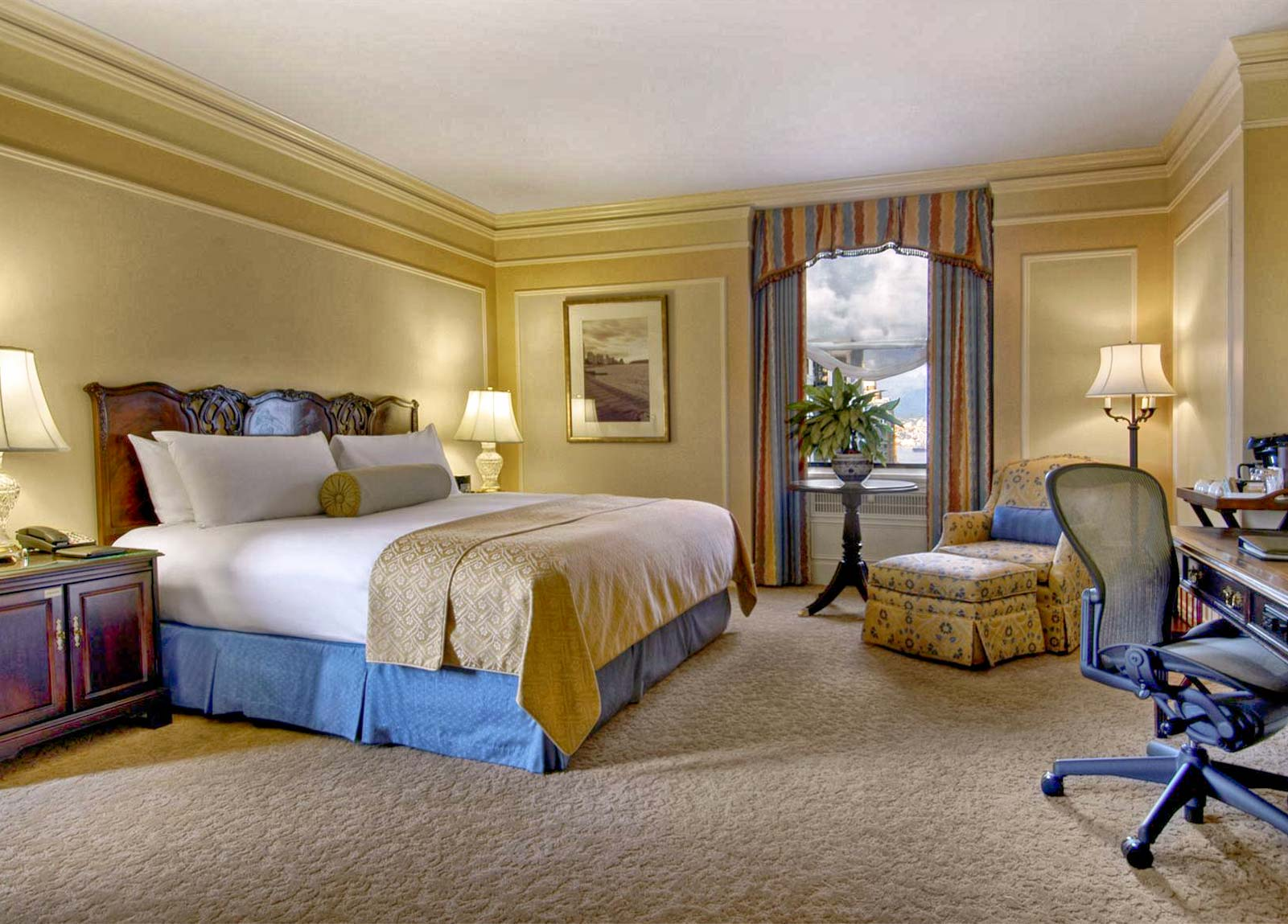 Fairmont Hotel Rooms