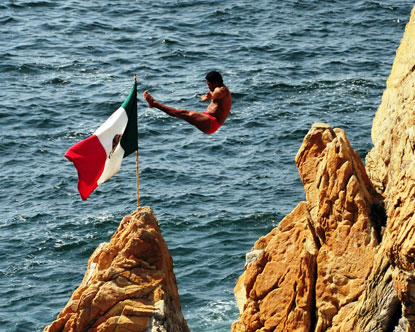 Acapulco Cliff Jumping