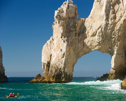Kayaking in Cabo