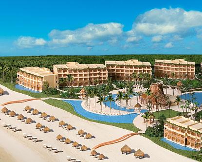 Secrets resort cancun vine
