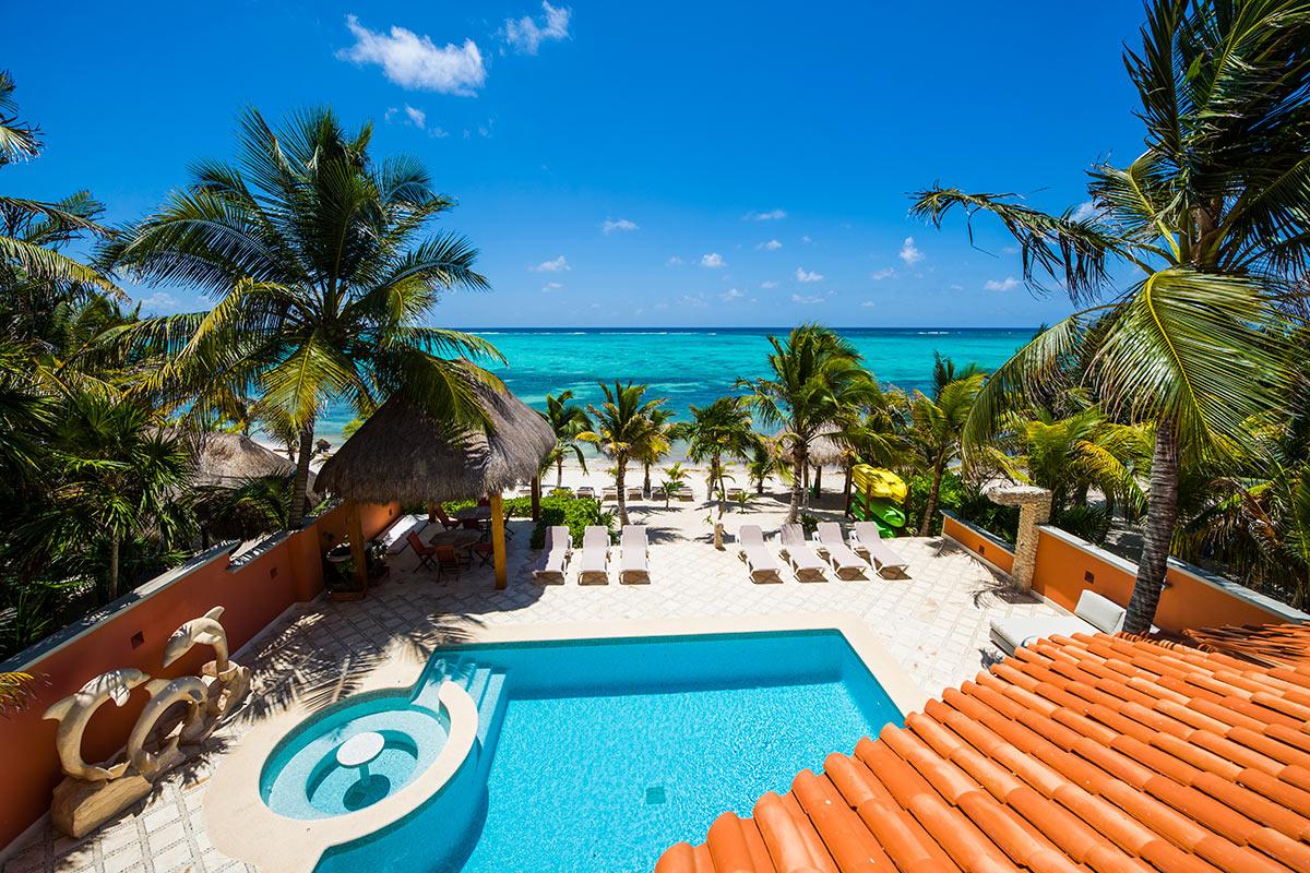 Soliman Bay Villas Luxury Villas On Riviera Maya Mexico