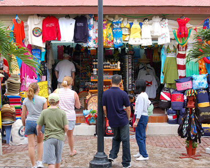 Shopping near Cruise Port: Shopping in Cancún