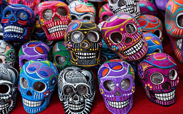 Image result for day of the dead skull