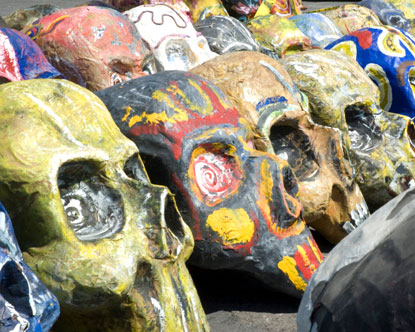day of dead mexico skulls. Day of the Dead Skulls