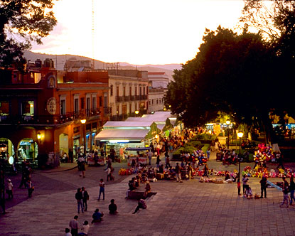 oaxaca mexico is located in the southern portion of mexico and is a
