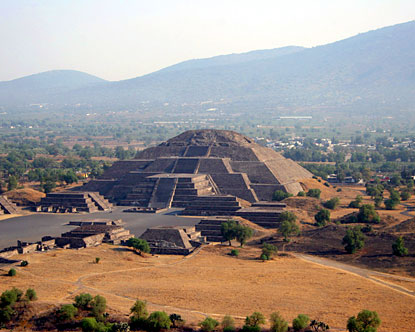 Teotihuacan in Mexico City
