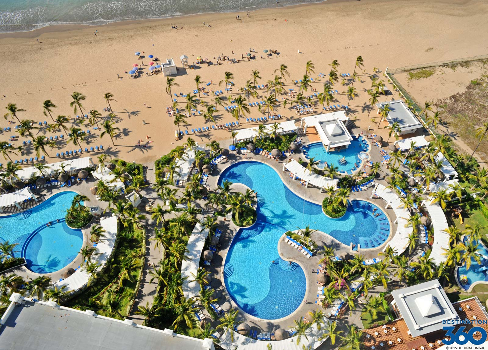 RIU Pool Virtual Tour