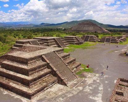 Aztec Pyramids In Mexico Tours