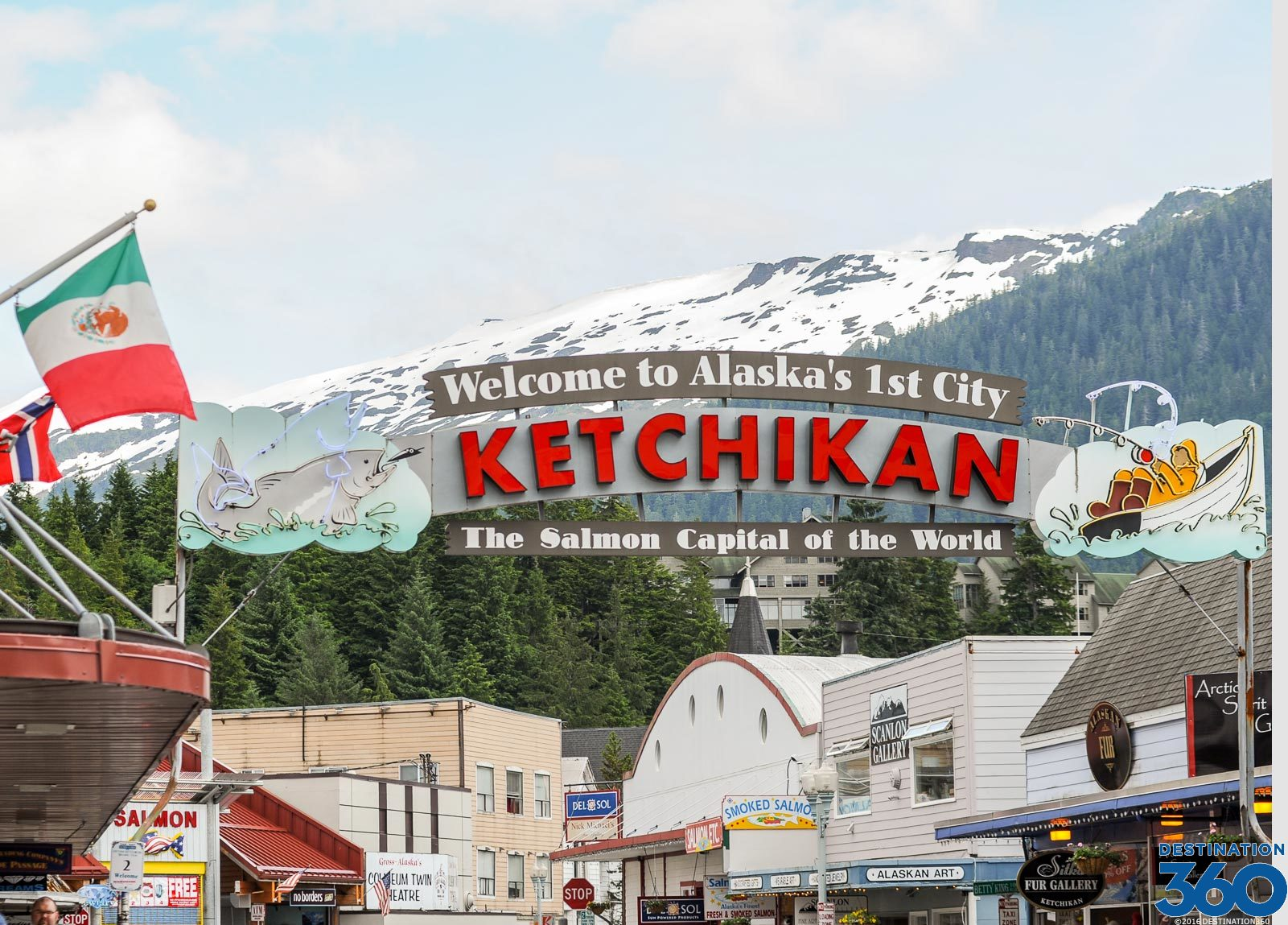 Ketchikan Alaska Salmon Capital Of The World