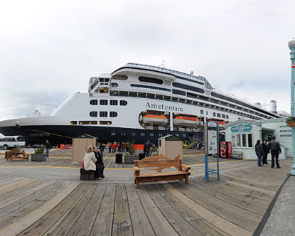 Ketchikan Cruise Dock Virtual Tour