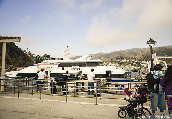 Ferry to Catalina