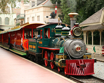 Disneyland Railroad Disneyland Railway