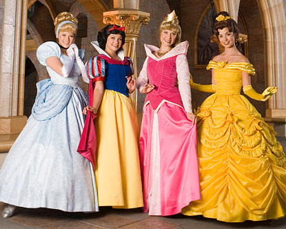 Disneyland Princesses