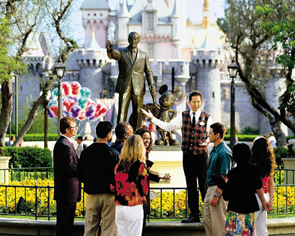 Guided Tour Disneyland Cost