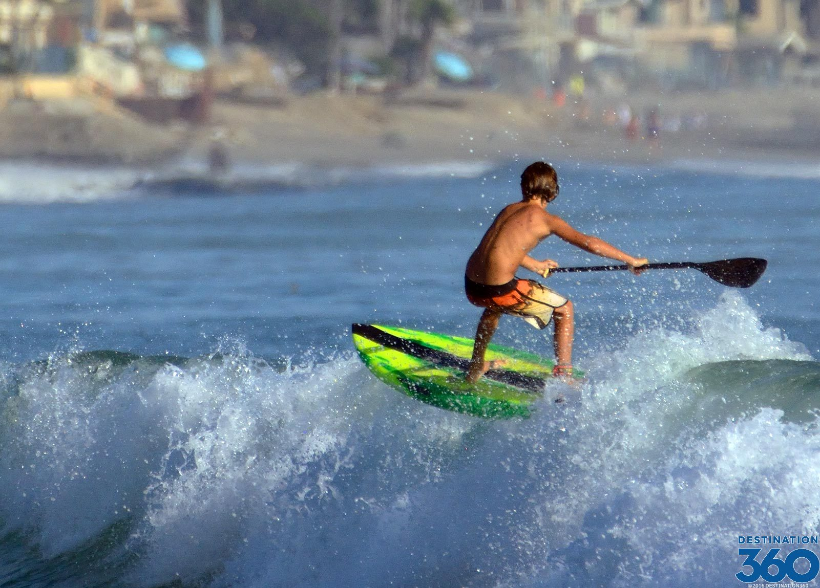 Doheny Beach Surfing