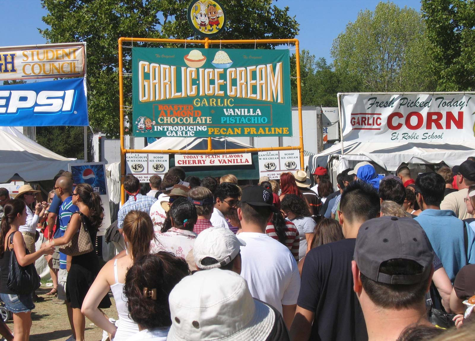 Gilroy Garlic Festival Food
