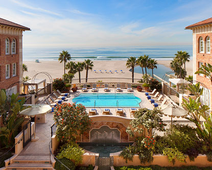 Beach Hotels Santa Monica