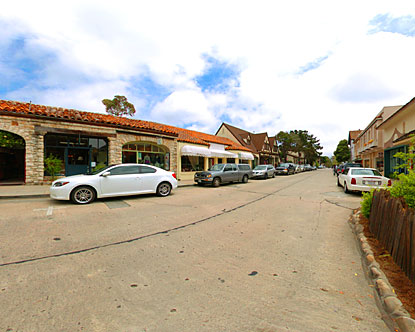 Carmel Street Shopping Virtual Tour