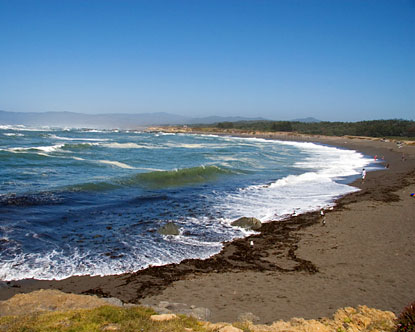 Fort Bragg Beach - Fort Bragg California