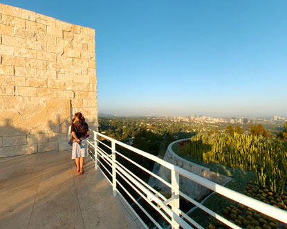 Getty Center View Virtual Tour